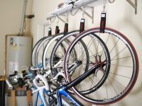 Fantastic way to hang your bike within home to save the space
