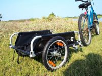 How to make a bike trailer